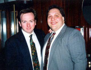 Francis Schott and Mark Pascal, circa 1992